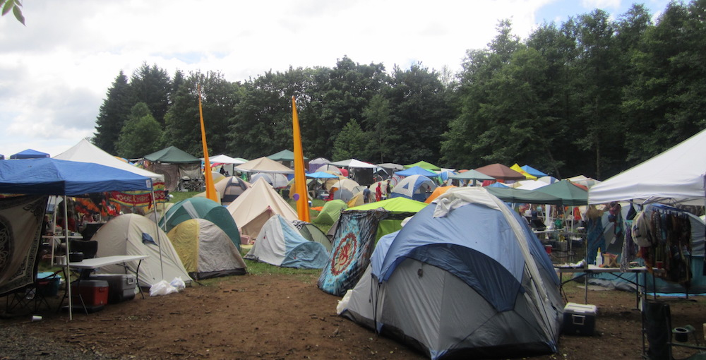 Music Festival Campground