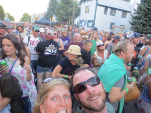 Crested Butte street party