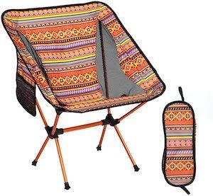 YUANBAI portable folding camping chair