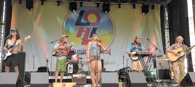 Rhythms on the Rio Music Festival, featuring Liver Down the River