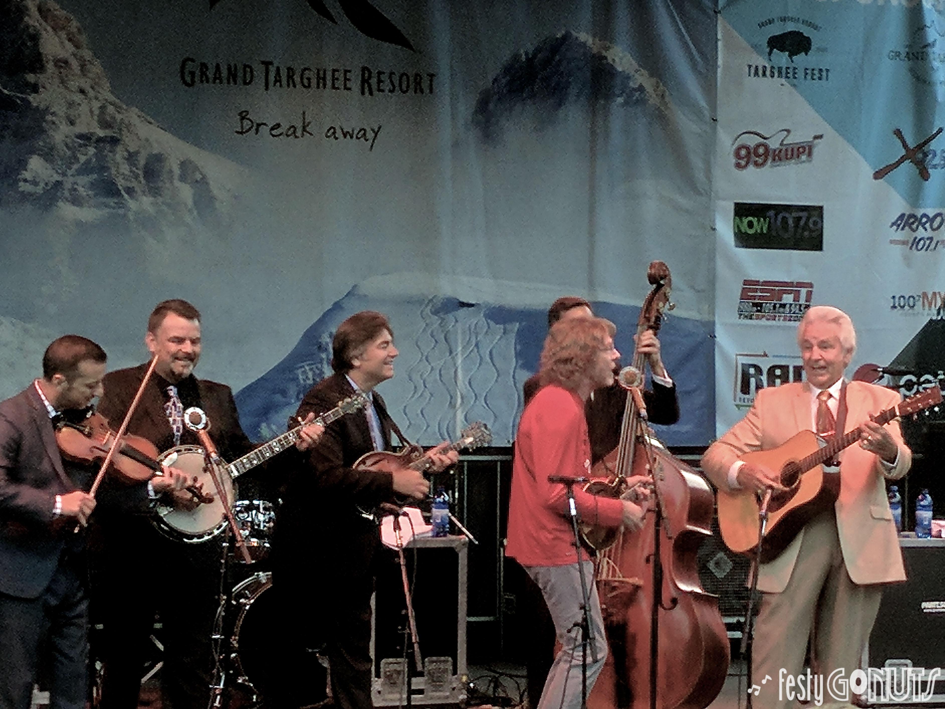 Grand Targhee Bluegrass Festival Del McCoury Band Sam Bush