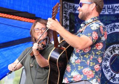 Jon Stickley Trio at Rhythms on the Rio Music Festival 2017