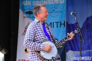 Danny Barnes at Grand Targhee Bluegrass Festival 2017