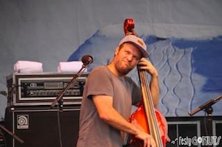 Mike Devol of Greensky Bluegrass at Grand Targhee Bluegrass Festival 2017