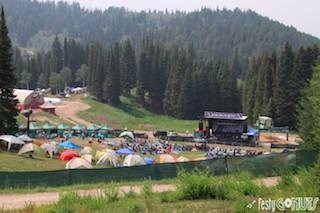 Grand Targhee Bluegrass Festival Grounds