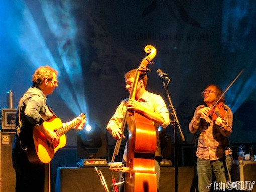 Infamous Stringdusters at the Grand Targhee Bluegrass Festival 2017