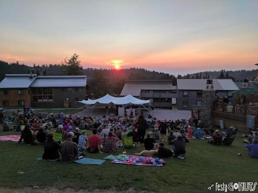 Grand Targhee Bluegrass Festival Music Camp Show 2017