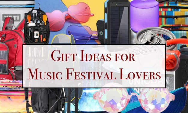 Music Festival Gifts: Gift Ideas for Music Festival Lovers
