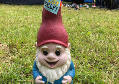 Festival Gnome at Blue Ox Music Festival 2019