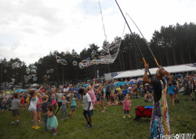 Joyful Bubbles at Blue Ox Music Festival 2019