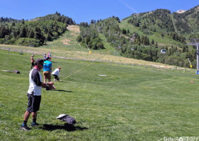 Outbound Pursuit 2019 Snowbasin - fly fishing