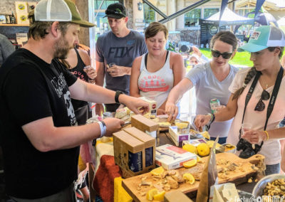 Outbound Pursuit 2019 Snowbasin wine and cheese