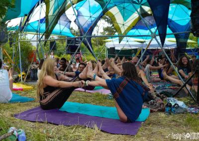 Yoga at Sonic Bloom 2019