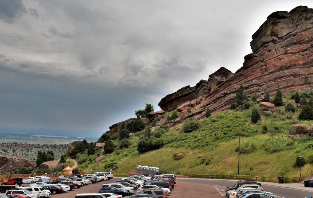 Red Rocks Parking Lot