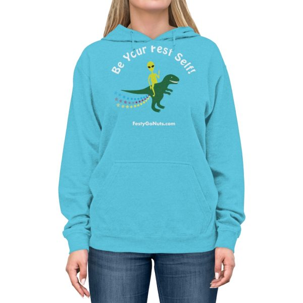 """Be Your Fest Self"" in this stylish hoodie!"