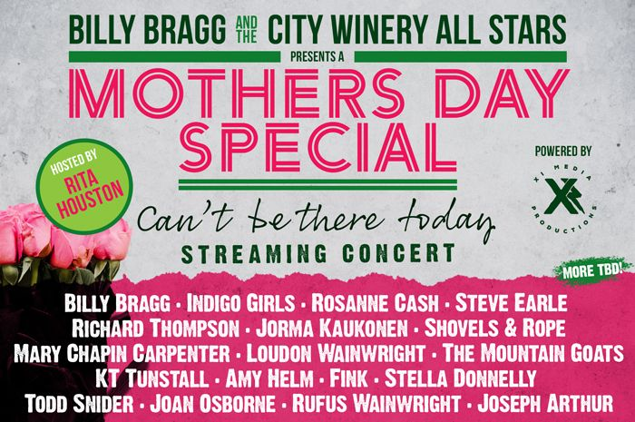 City Winery Mother's Day All Star Virtual Concert