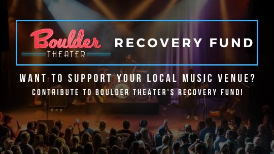 Recovery Funds Created for Boulder and Fox Theater in Colorado