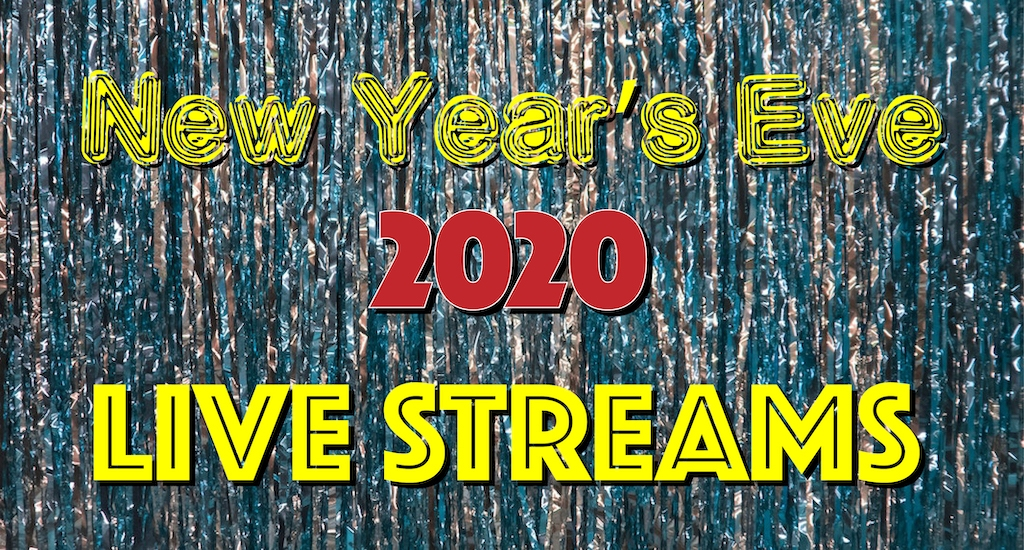 New Year's Eve 2020 Live Streaming Concerts