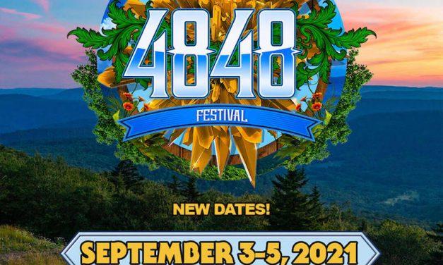 4848 Festival Rescheduled: September 3-5, 2021