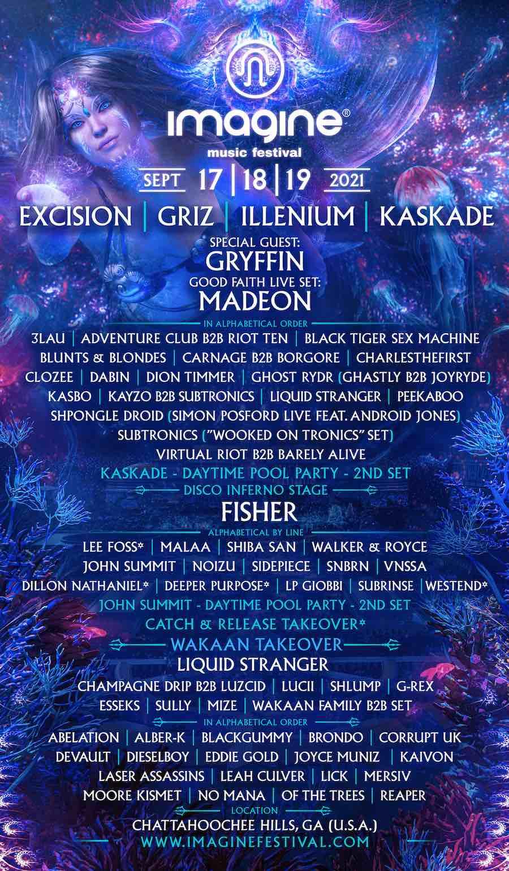 IMAGINE FESTIVAL | 2021 Lineup