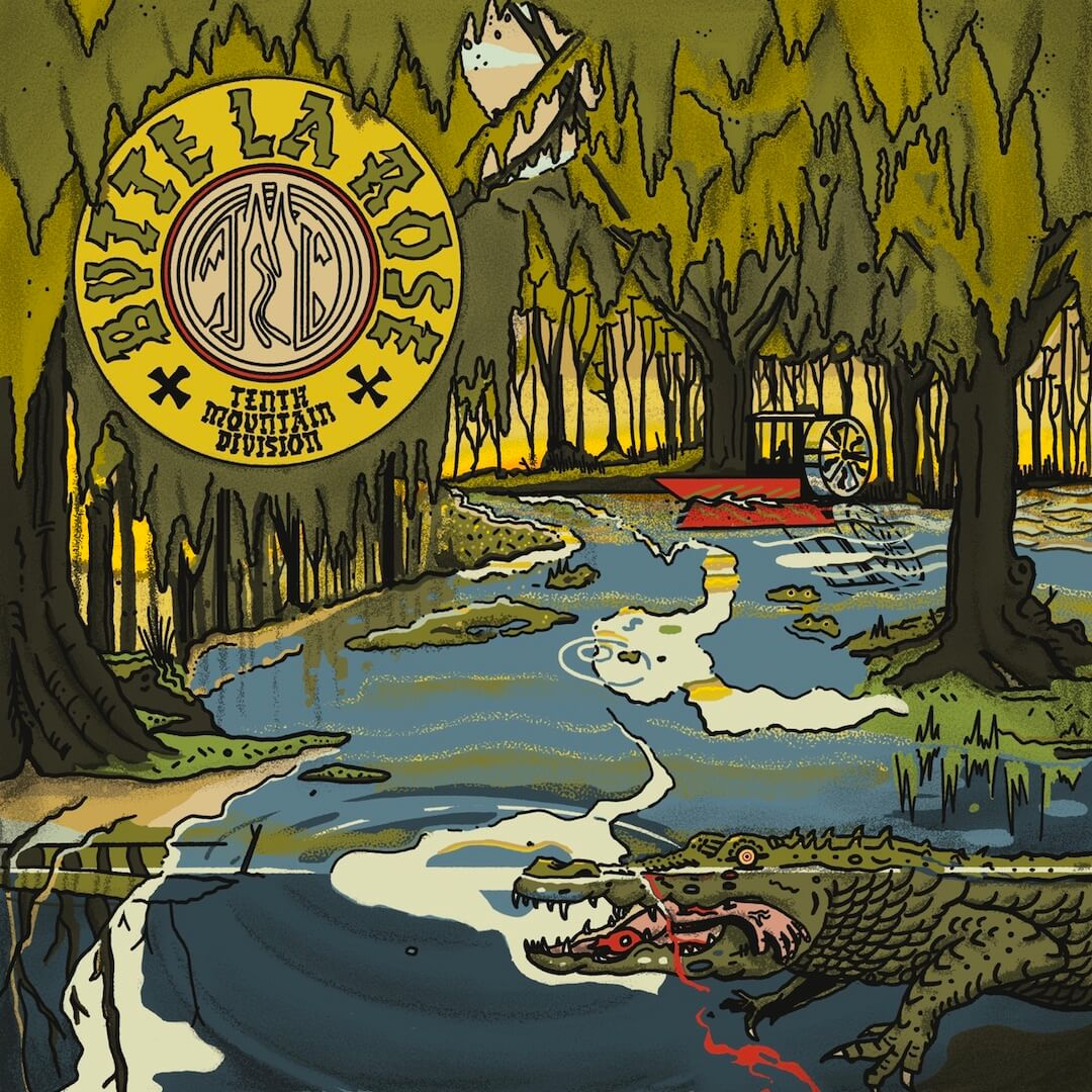"Tenth Mountain Division ""Butte La Rose"" Album Cover"