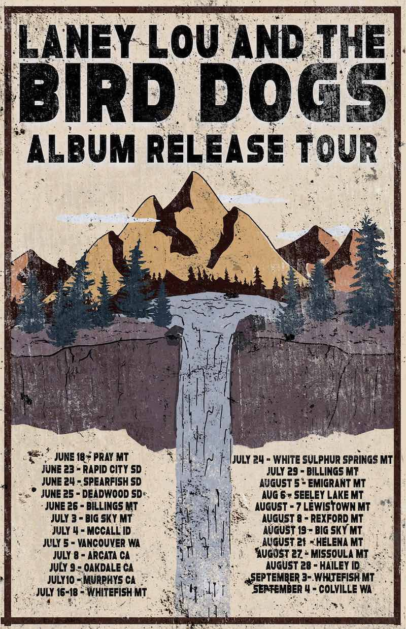 Laney Lou and the Bird Dogs - Album Release Tour