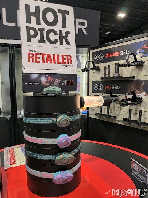 LED Lenser at Denver Outdoor Retailer Show 2021