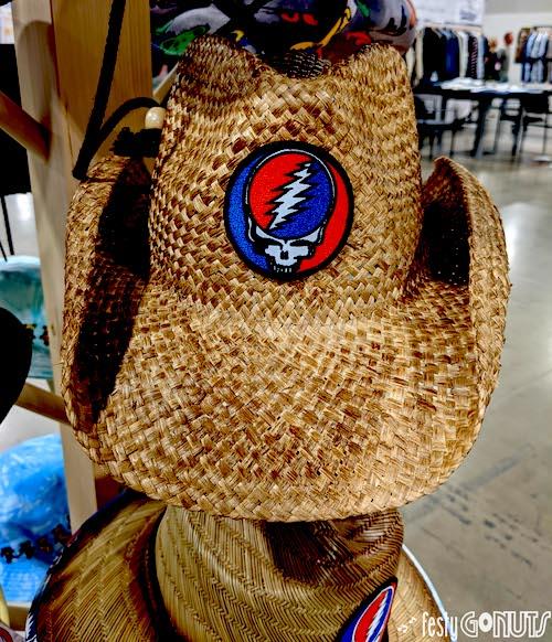 Peter Grimm Grateful Dead hat at Outdoor Retailer 2021