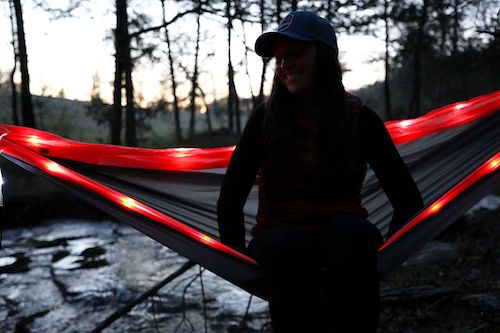 Equip Illuminated Travel Hammock