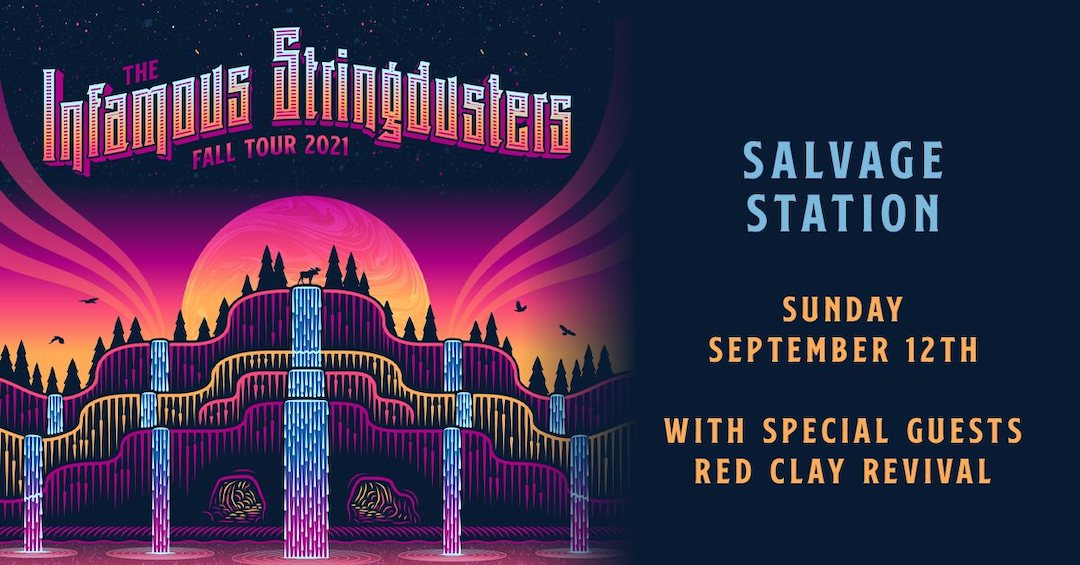 Red Clay Revival and Infamous Stringdusters poster